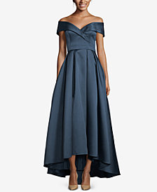 XSCAPE Sweetheart-Neck High-Low Ballgown