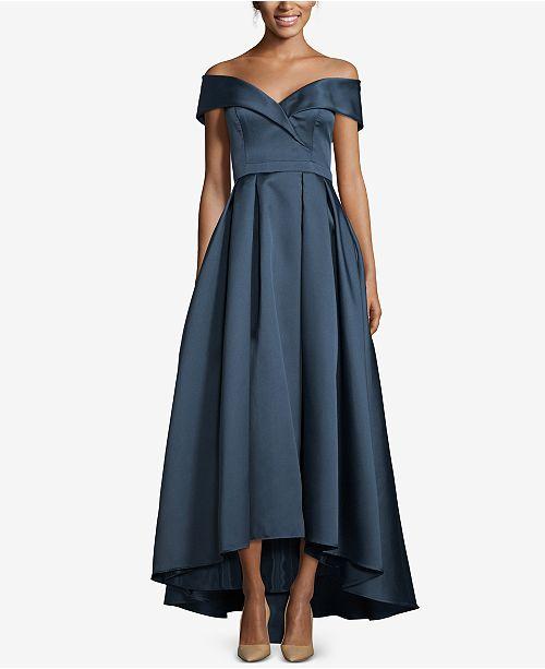 00d1a467f1d XSCAPE Sweetheart-Neck High-Low Ballgown   Reviews - Dresses - Women ...