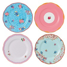 Royal Albert Candy Set/4 Mix Plates