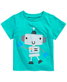First Impressions Baby Boys Robot T-Shirt, Created for Macy's