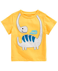 First Impressions Toddler Boys Dino Rawr T-Shirt, Created for Macy's
