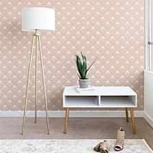 Caroline Okun Pale Pink Spring Bulbs 2'x10' Wallpaper