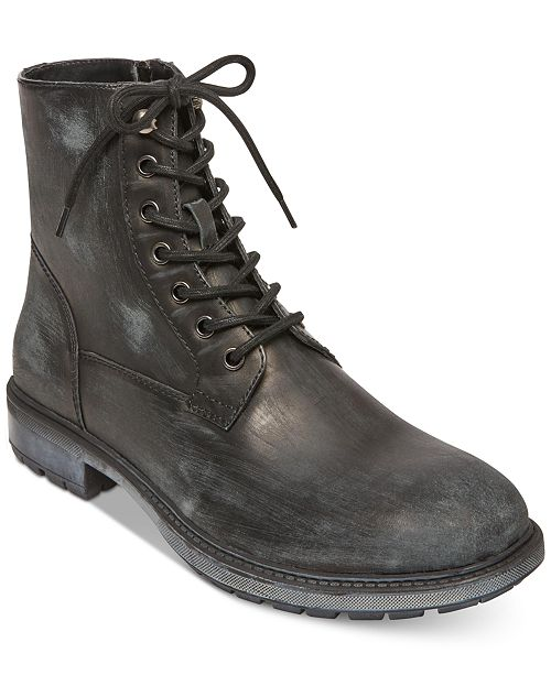 48f07d90ac3 Steve Madden Self Made by Men s Smoky Leather Boots   Reviews - All ...