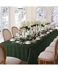 "Elrene Elegance Plaid Holly Green 52"" X 70"" Tablecloth"