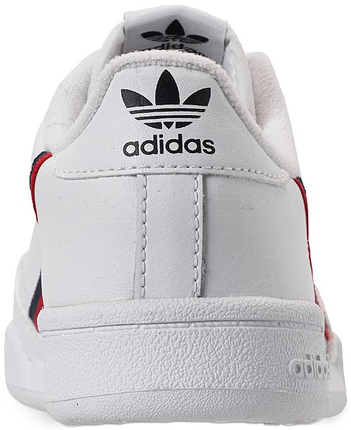 huge selection of 93371 4630a ... adidas Boys  Originals Continental 80 Casual Sneakers from Finish ...
