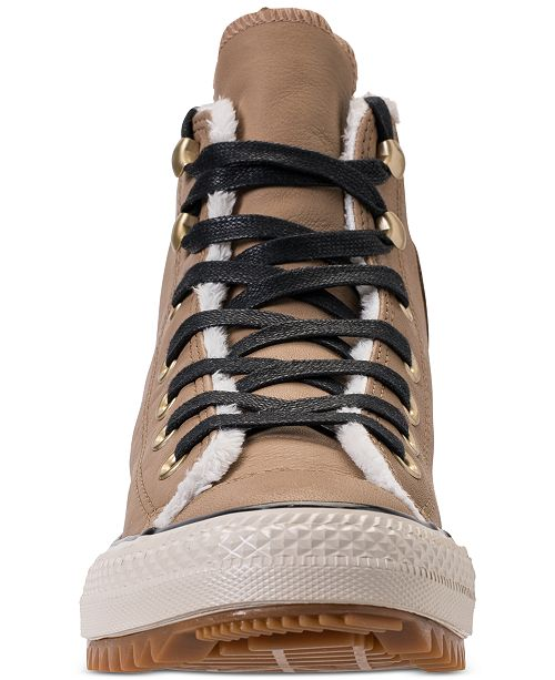 63cfebd698c ... Converse Women s Chuck Taylor All Star Hiker Boot High Top Casual  Sneakers from Finish ...