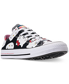 Converse Women's Chuck Taylor Ox Hello Kitty Casual Sneakers from Finish Line