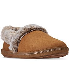 Skechers Women's Cali Cozy Campfire - Team Toasty Slip-On Casual Comfort Slippers from Finish Line