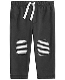 First Impressions Baby Boys Knee-Patch Jogger Pants, Created for Macy's