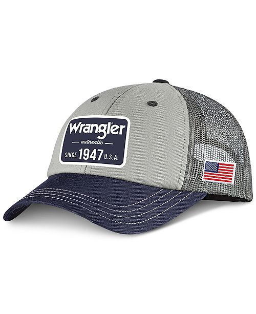 Wrangler Structured Baseball Cap - Hats e126fcc6d6a
