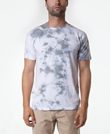 Original Paperbacks Men's Cloudy Crystal Wash Tie Dye T-Shirt