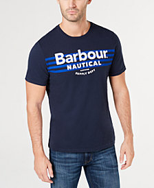 Barbour Men's Bluefin Logo Graphic T-Shirt