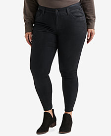 Lucky Brand Trendy Plus Size Ginger Skinny Jeans