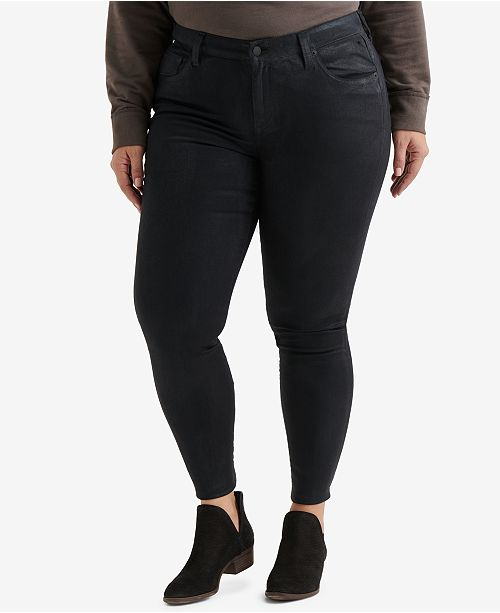 a1d0a7bbcdf7 Lucky Brand Trendy Plus Size Ginger Skinny Jeans & Reviews ...