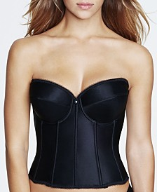 Dominique Rachelle Satin Longline Strapless Bra 7750