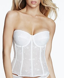 Dominique Rosemarie Embroidered Lace Corset Longline 8900