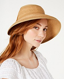 INC Bow Roll-Up Visor, Created for Macy's