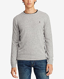 Polo Ralph Lauren Men's Cashmere Crew Neck Sweater