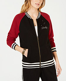 Lucky Brand Dragon & Tiger-Graphic Track Jacket