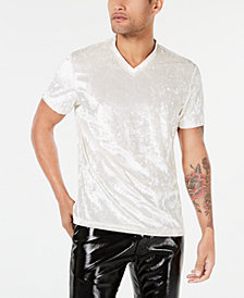 I.N.C. Men's Velvet V-Neck T-Shirt, Created for Macy's