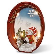 "National Tree 9"" Lighted Christmas Décor Piece"