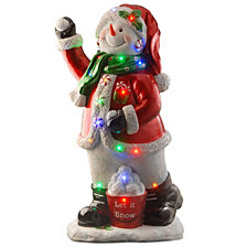 "National Tree Company 35"" Pre-Lit Snowman Decoration"