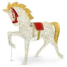 "51"" Pre-lit Carnival Horse"
