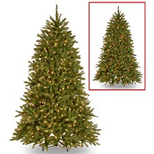 National Tree 6 .5' Dunhill Fir Tree with 600 Dual Color LED Lights and PowerConnect ™