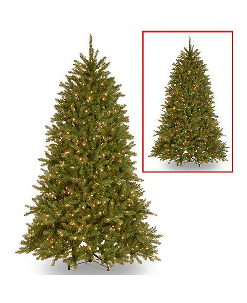 National Tree Company National Tree 6 .5' Dunhill Fir Tree with 600 Dual Color LED Lights and PowerConnect ™