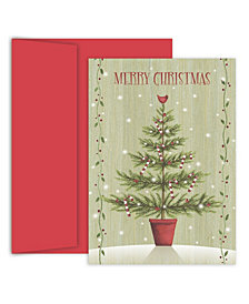 Masterpiece Studios Country Tree Boxed Holiday Cards