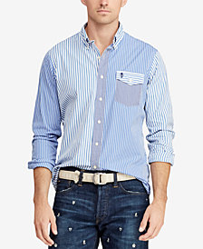 Polo Ralph Lauren Men's Classic Fit  Poplin Shirt