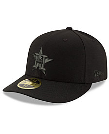 New Era Houston Astros Triple Black Low Profile 59FIFTY Fitted Cap