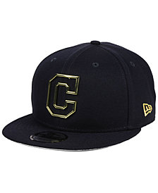 New Era Cleveland Indians Metal Framed 9FIFTY Snapback Cap