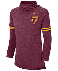 Nike Women's Florida State Seminoles Funnel Neck Long Sleeve T-Shirt