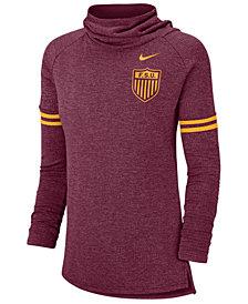 Nike Women's Florida State Seminoles Funnel Neck Long Sleeve T-Shirt