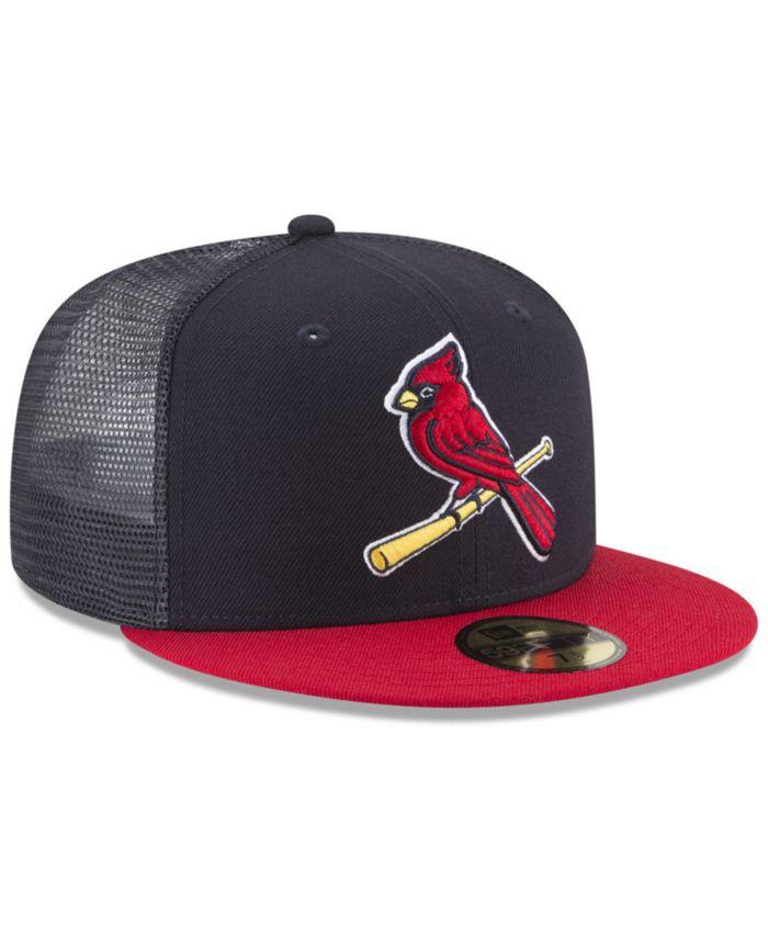New Era St. Louis Cardinals On-Field Mesh Back 59FIFTY Fitted Cap & Reviews - Sports Fan Shop By Lids - Men - Macy's
