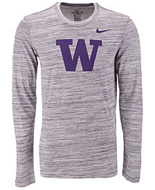 Nike Men's Washington Huskies Legend Travel Long Sleeve T-Shirt