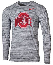 Nike Men's Ohio State Buckeyes Legend Travel Long Sleeve T-Shirt