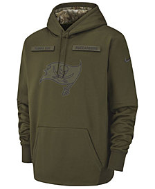 Nike Men's Tampa Bay Buccaneers Salute To Service Therma Hoodie