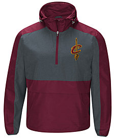 G-III Sports Men's Cleveland Cavaliers Leadoff Lightweight Half-Zip Jacket
