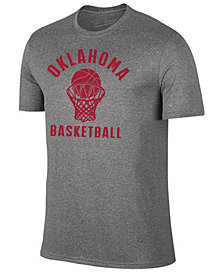 Retro Brand Men's Oklahoma Sooners Dual Blend Basketball T-Shirt
