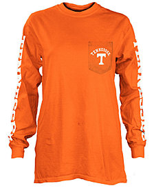 Pressbox Women's Tennessee Volunteers Long Sleeve Pocket T-Shirt