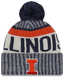 New Era Illinois Fighting Illini Sport Knit Hat