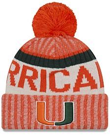 New Era Miami Hurricanes Sport Knit Hat