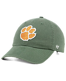 '47 Brand Women's Clemson Tigers Glitta CLEAN UP Cap