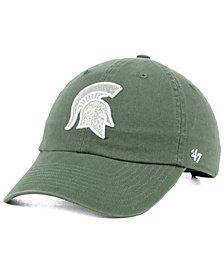 '47 Brand Women's Michigan State Spartans Glitta CLEAN UP Cap
