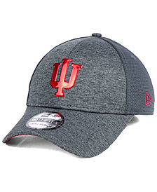 New Era Indiana Hoosiers Shaded Luster 39THIRTY Stretch Fitted Cap