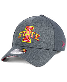 New Era Iowa State Cyclones Shaded Luster 39THIRTY Stretch Fitted Cap