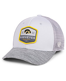 Top of the World Iowa Hawkeyes Hyjak Mesh Flex Stretch Fitted Cap