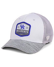 Top of the World Kentucky Wildcats Hyjak Mesh Flex Stretch Fitted Cap